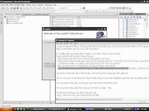 Hướng dẫn đóng gói phần mềm C#