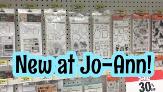 NEW AT JO-ANN : Paper & Stamps | SHOP WITH ME | I'm A Cool Mom