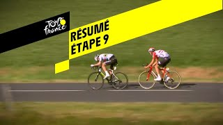 Samenvatting etappe 9 Tour de France 2019