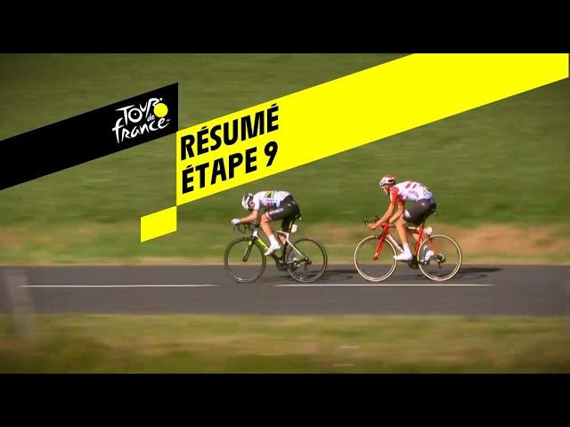 Résumé - Étape 9 - Tour de France 2019