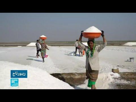 الملح.. ثروة طبيعية تنعم بها الهند ويشقى العاملون بها!  - 12:54-2019 / 3 / 8