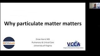 VCCA Webinar Series 2020.11.23 Health Impacts of Transportation Emissions - Dr. Harris