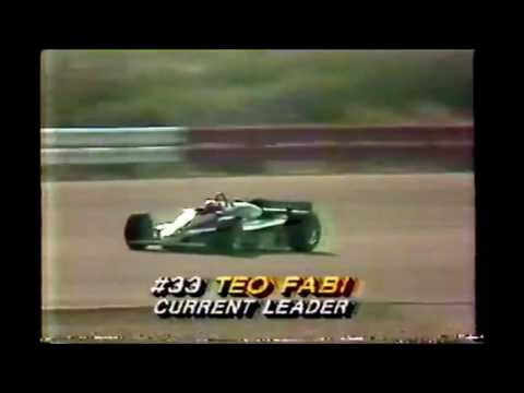 All of Teo Fabi's Indycar Wins