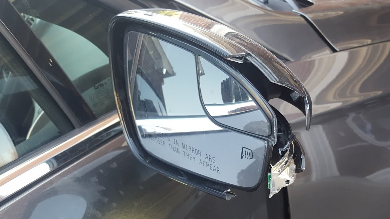 replace  passenger mirror     ford fusion youtube