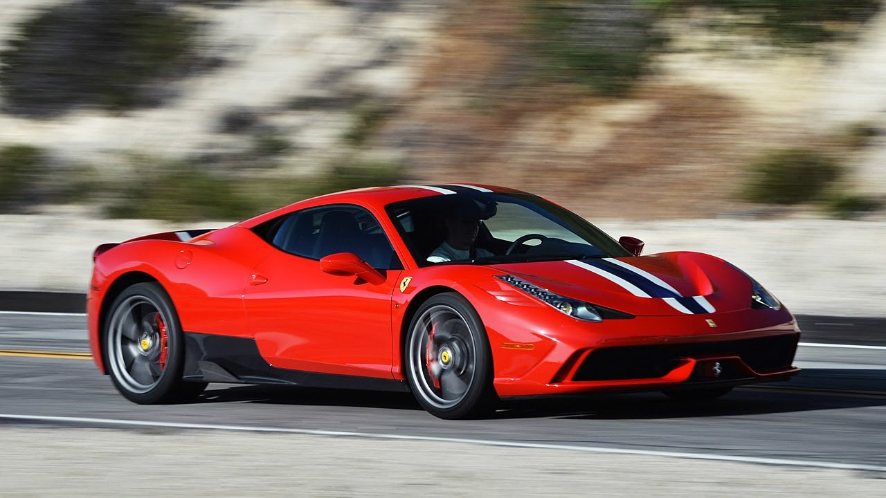 2015 Ferrari 458 Speciale Youtube