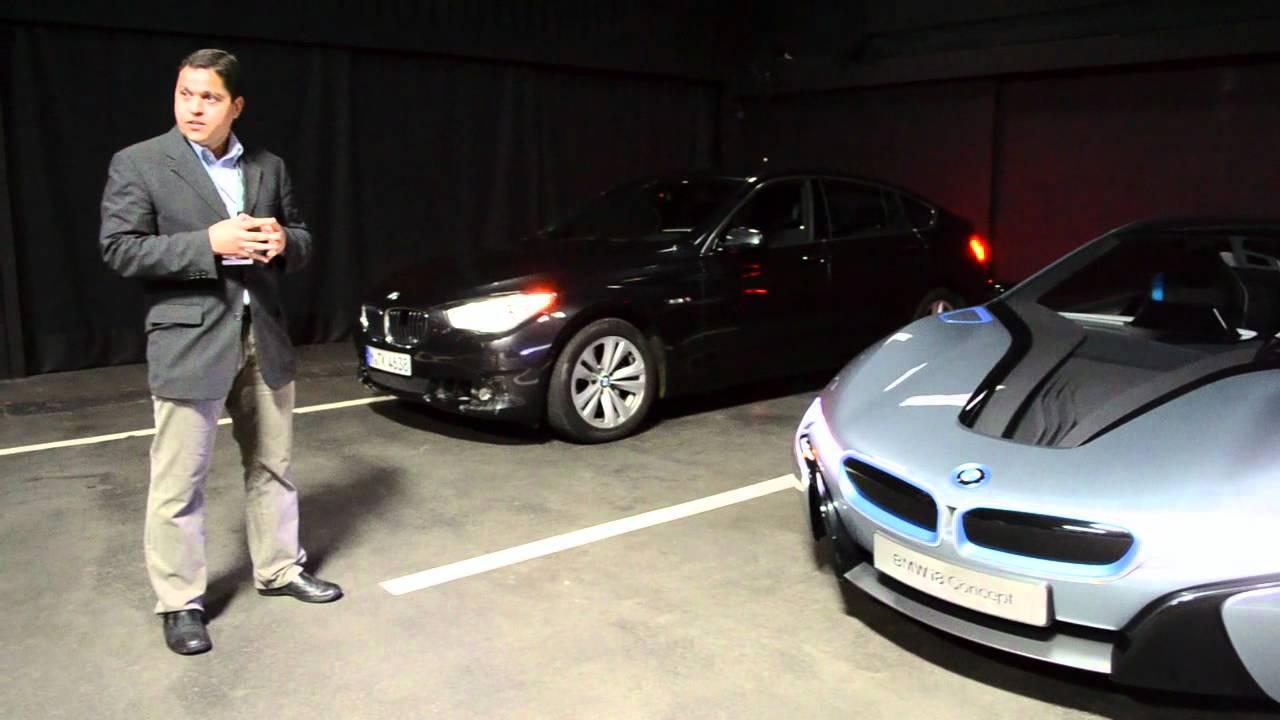 Bmw I8 Laser Headlamps Youtube
