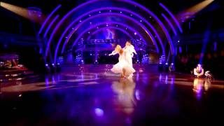 Pamela Stephenson & James Jordan - Viennese Waltz - Strictly Come Dancing - Week 10