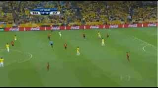 Goal of Fred - Brazil vs Spain 3-0 - Confederations Cup FINAL 2013