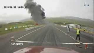 В Интернет Попало Видео Авиакатастрофы В Исландии(В интернете появилась видеозапись, на которой запечатлена авиакатастрофа в Исландии, произошедшая в авгус..., 2014-01-09T08:40:24.000Z)