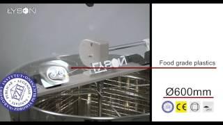 Тангенціальна медогонка 4-рама ручним приводом Оптима