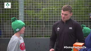 IRFU Going4Gold 7s Rugby & Mental Wellbeing Programme Wraps up in Finglas