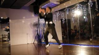 Salsa Dance Solo Performance   Pedro Los Valientes