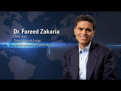 Dr. Fareed Zakaria | Globalization of Higher Education