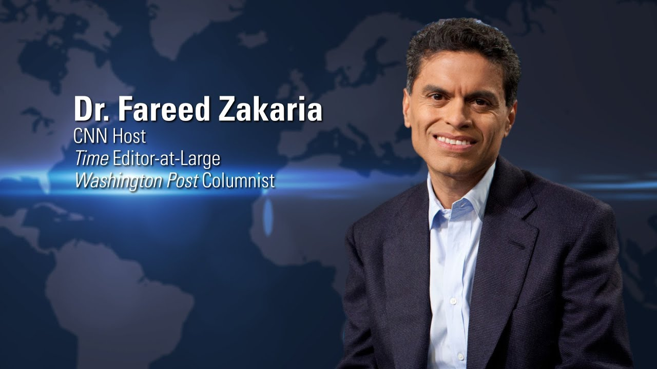 Image result for Dr Fareed Zakaria