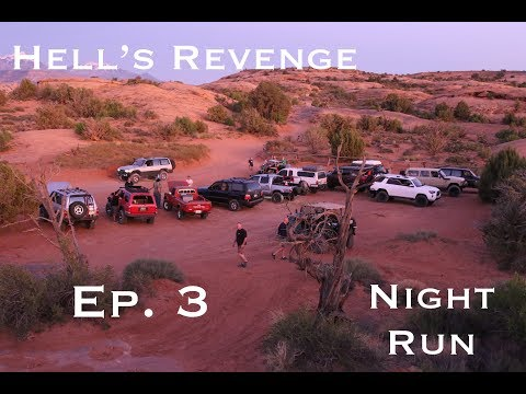 Overland Family Expeditions: Expedition Utah Ep3 (Hell's Revenge at Night)