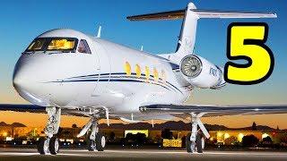 5 อันดับ เครื่องบินส่วนตัว โคตรหรู โคตรแพง ที่สุดในโลก  !!