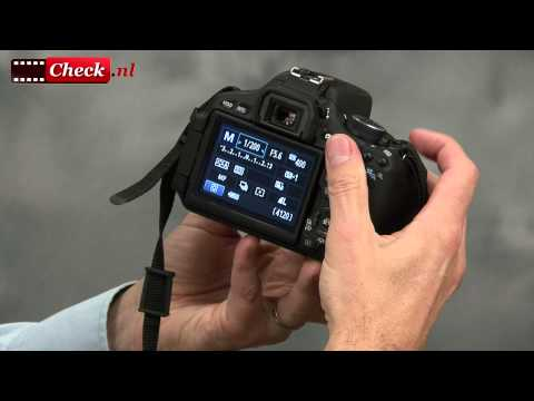 Canon EOS 600D productvideo