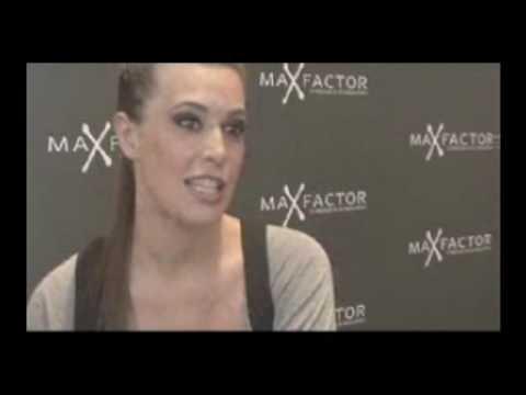 Angie Cepeda en el Festival de cine de Malaga 2009