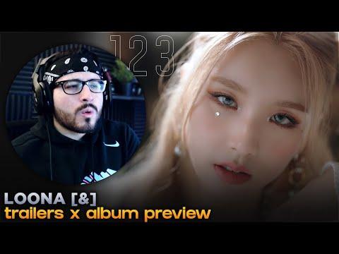 """Reaction to 이달의 소녀 (LOONA) """"&1, &2, &3"""" X Mini Album Preview"""