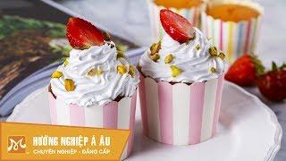 Học làm bánh - Cách làm bánh Cupcake cực ngon đơn giản