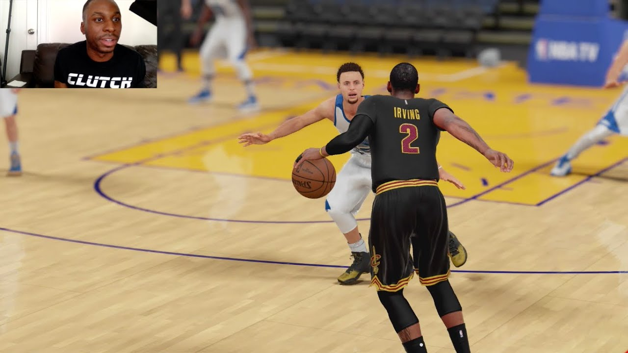Can I Recreate Kyrie Irving's Game Winning 3PT Shot over Stephen Curry in Game 7 of the NBA ...