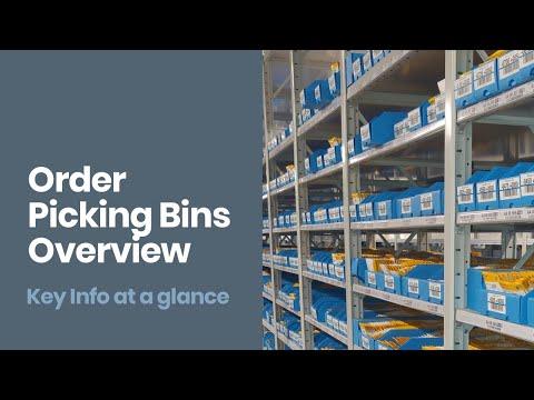 Order Picking Bins [Quick Guide]: Improve Warehouse Storage & Ecommerce Fulfilment