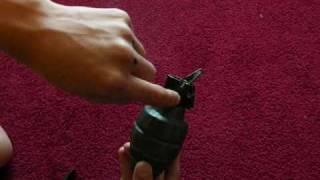 Homemade MKII Frag Grenade (Pineapple Grenade)