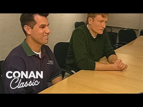 "Conan Gives Hilton's Furniture An Advertising Makeover - ""Late Night With Conan O'Brien"""