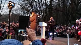 Навальный  Выступление в Калининграде ч 1