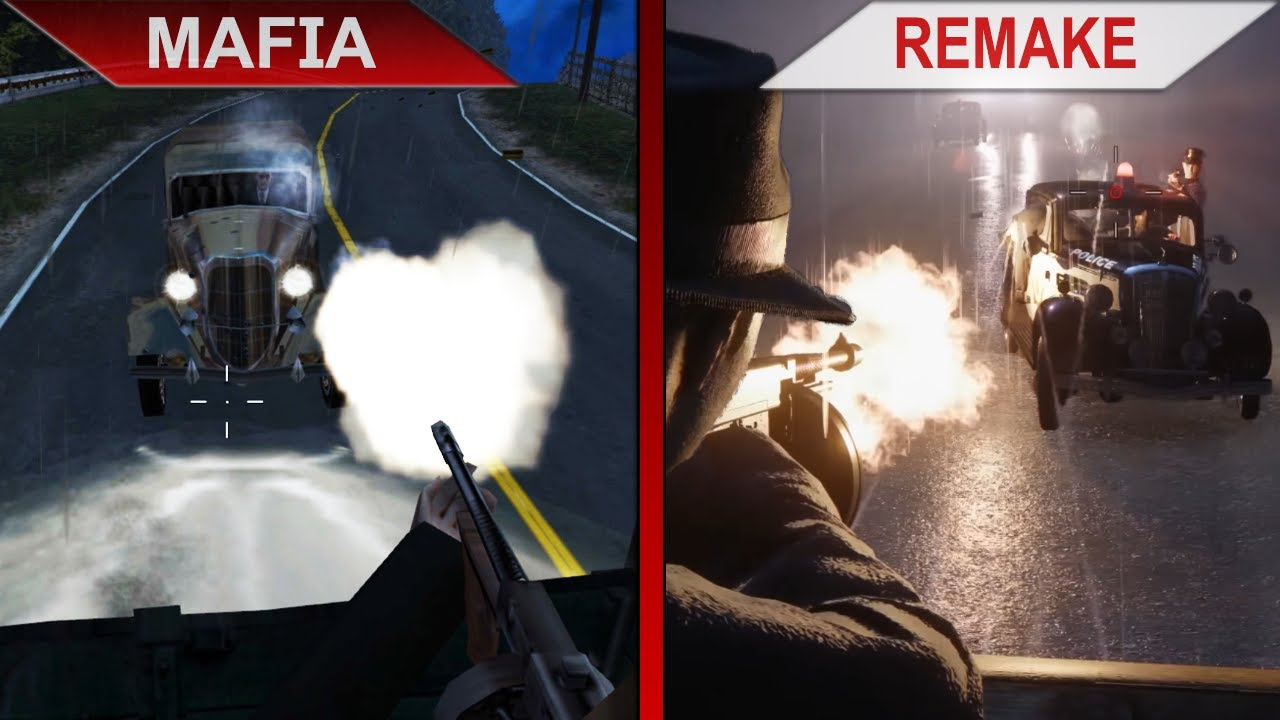 THE BIG COMPARISON | Mafia vs. Mafia: Definitive Edition (Mafia 1 Remake)