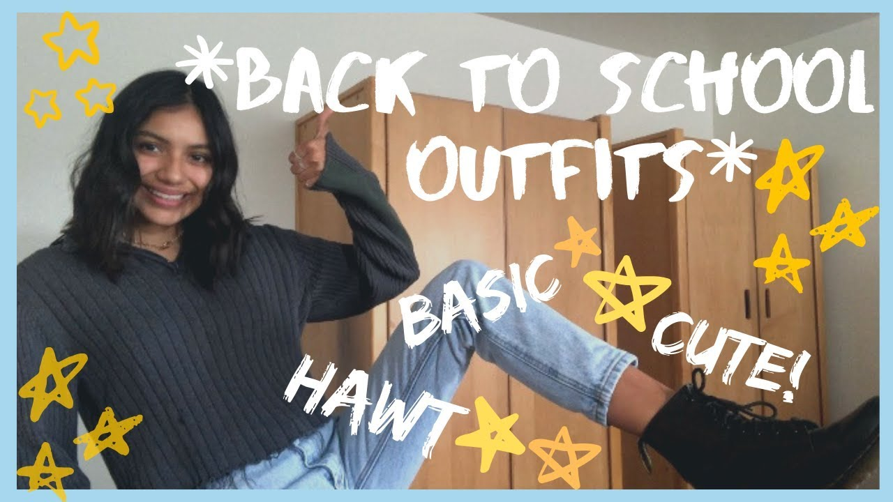 [VIDEO] - Back to School Outfit Ideas 2019|| iQuaren 5