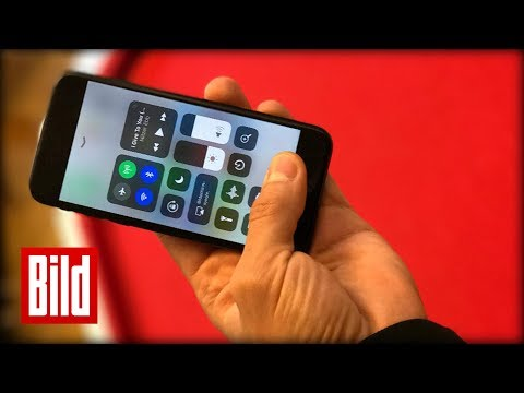 iOS 11 - Neue Apple-Betriebs-Software