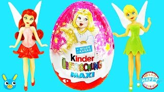 Disney Fairies KINDER SURPRISE MAXI EGGS for Christmas