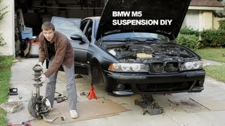 Suspension DIY Repair - BMW M5 Dinan Koni Shocks & Swaybar + PowerFlex Bushings
