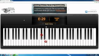 Someone Like You - Adele - Intro - Virtual Piano - Playing and Lesson !