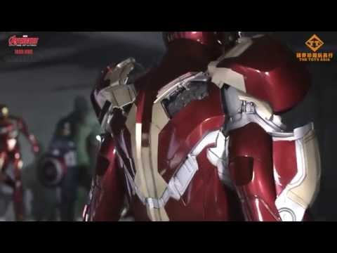 Incredible ! 1:1 Motorised Iron Man Armor (mark 43) By The Toys Asia