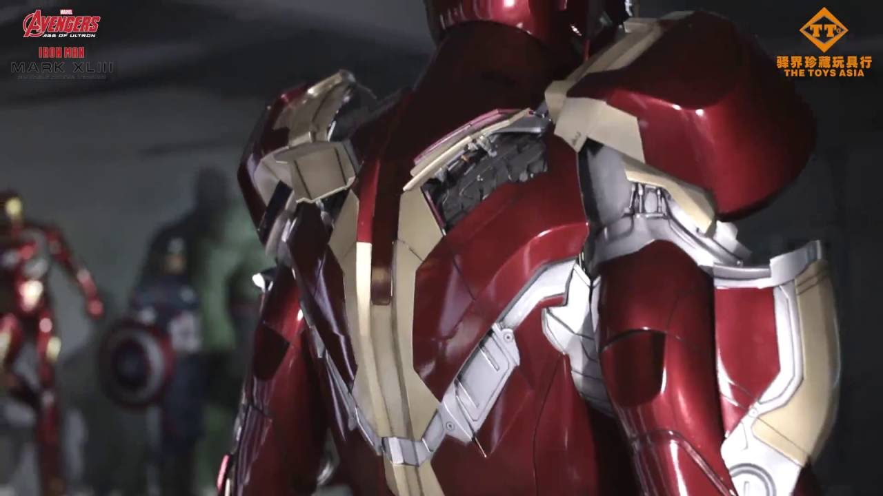 Incredible 11 Motorised Iron Man Armor Mark 43 By The Toys Asia