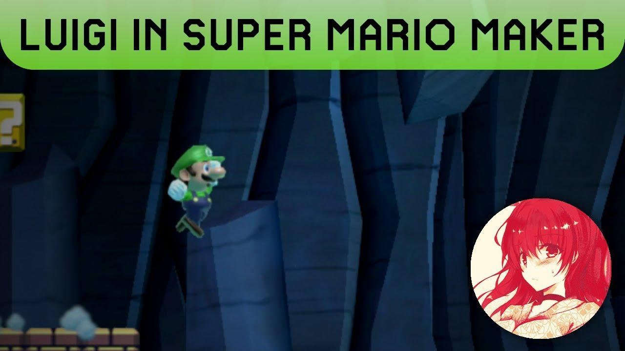Super Luigi Maker [Super Mario Maker] [Skin Mods]