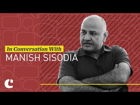 Manish Sisodia on Saffronisation of education, revising India history and space for debate (1/3)