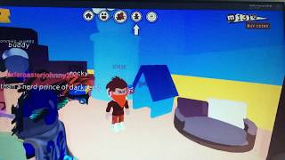 Playing ROBLOX meep city w jademasterjohnny204/meep city house tour!