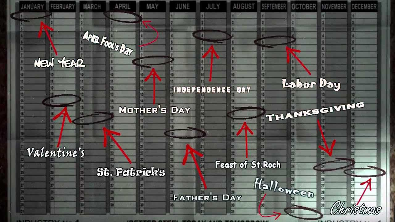 maxresdefault batman arkham city [calendar man easter egg] youtube arkham city calendar man fuse box at n-0.co