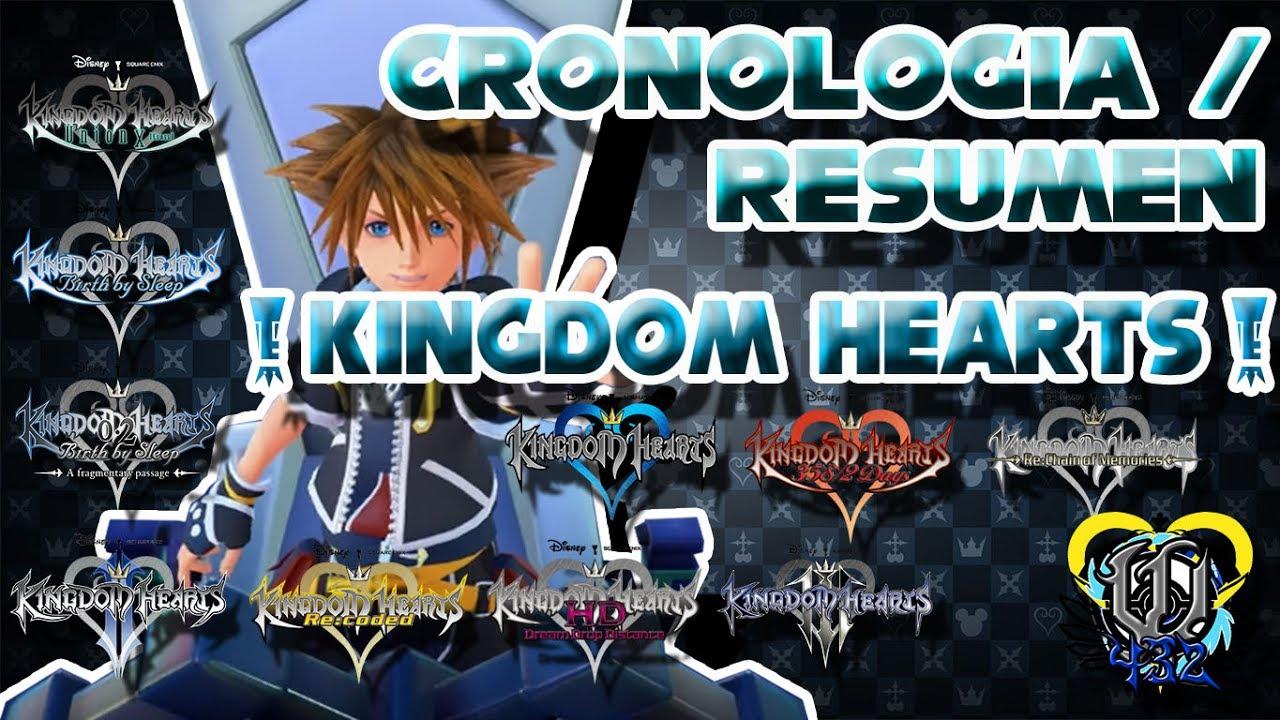 La Cronologia Resumen De La Historia De Kingdom Hearts Youtube