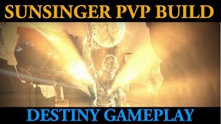 Destiny Best Crucible PvP Builds -  Claws of Ahamkara and Red Death (Sunsinger Tank Master)