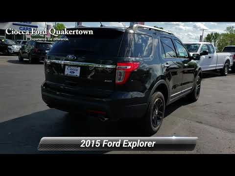 Used 2015 Ford Explorer XLT, Quakertown, PA 20151079