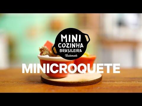 Minicroquete | MINICOZINHA BRASILEIRA