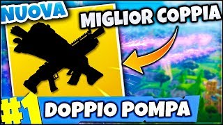 GOODBYE GRANDFATHER'S PUMP! 😭😭 NOUVEAU COMBO POUR POWER POWER FORTNITE ITA REAL VITTORY