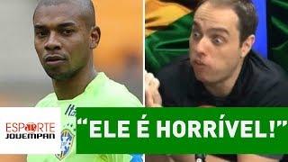 """Repórter SE REVOLTA e DETONA Fernandinho: """"ele é HORRÍVEL!"""""""