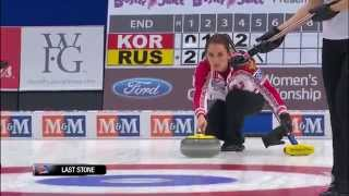 CURLING: RUS-KOR World Women