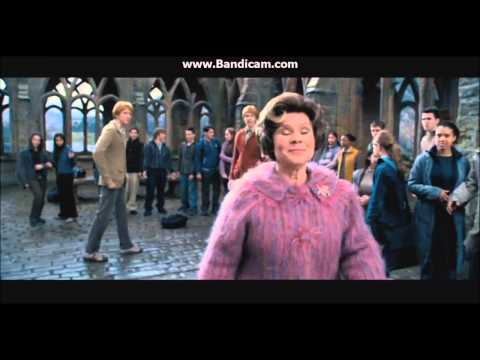 Harry Potter and the Order of the Phoenix   Funny Umbridge scene YouTube