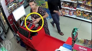 TOP 10 PEOPLE WHO GOT CAUGHT STEALING ON CAMERA